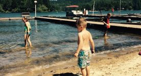 Vacation Time at the Lake: Reflections from a Blind Mother